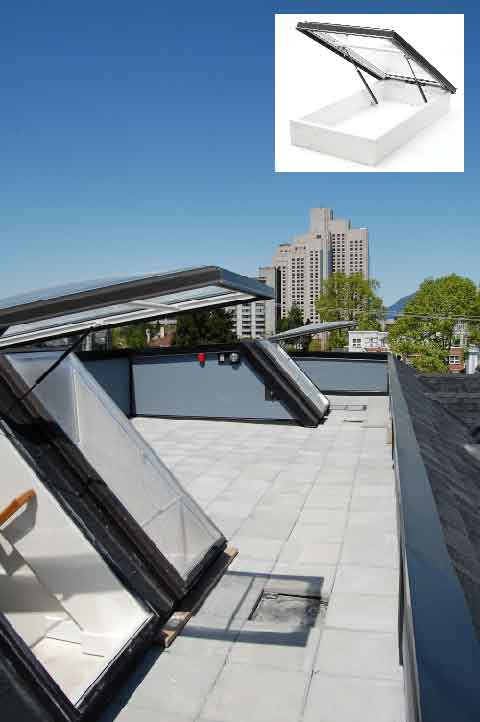Roof Access Hatches Ras Columbia Skylights